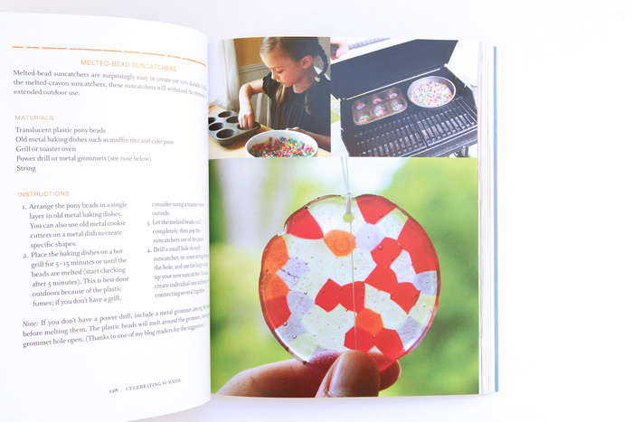 Make Dreamy Suncatchers for kids based on a project from The Artful Year by Jean Van't Hul