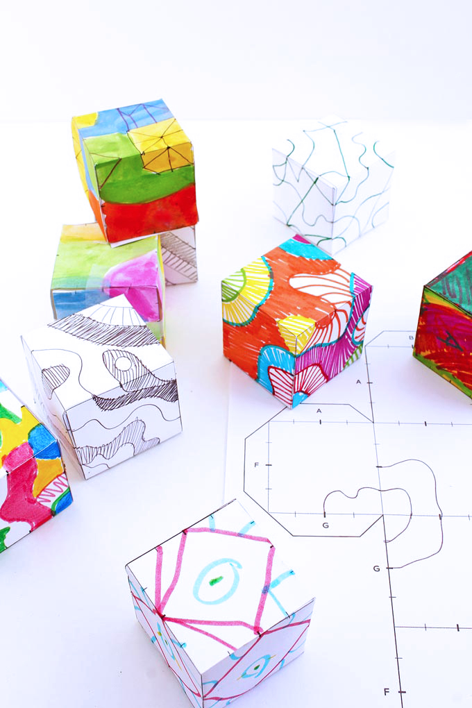 Drawing Ideas For Kids Doodle Cubes Babble Dabble Do