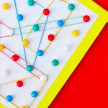 The Easiest DIY Geoboard