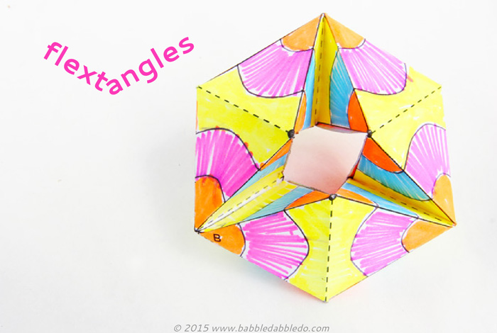 How to Make Amazing Flextangles - Babble Dabble Do