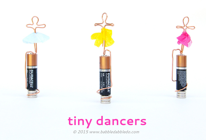 Learn how to make both a basic homopolar motor and a tiny dancing motor! Great science fair project for older kids!