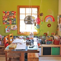 Space to Create: A Home Art Studio for Kids