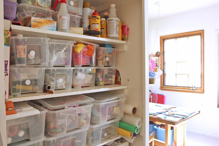 Space to Create: A Home Art Studio for Kids - Babble Dabble Do