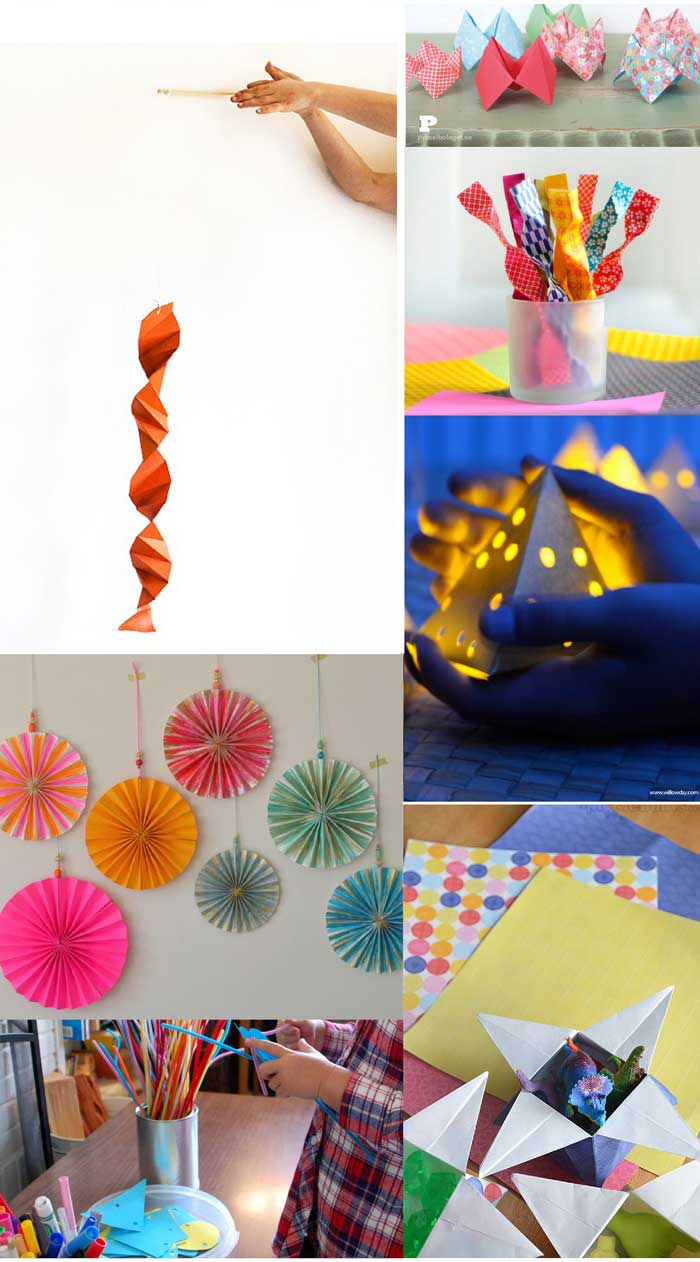 60+ amazing paper crafts for kids (and adults) to make! 3D Paper Magic Projects