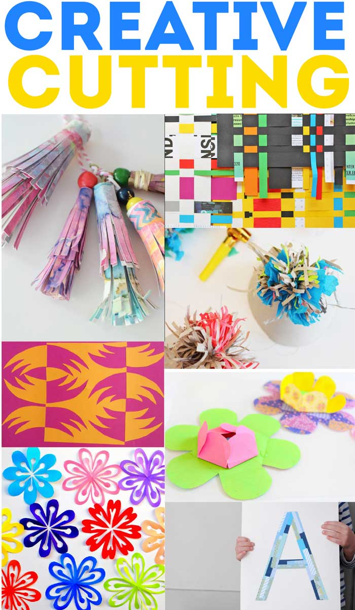 60+ amazing paper crafts for kids (and adults) to make! Paper Cutting projects