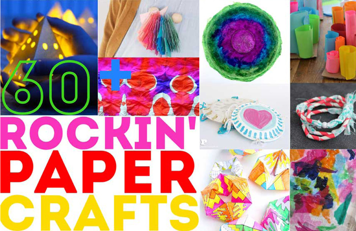 60+ Amazing Paper Crafts For Kids and Adults