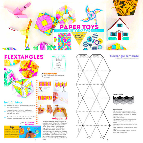 holiday paper templates