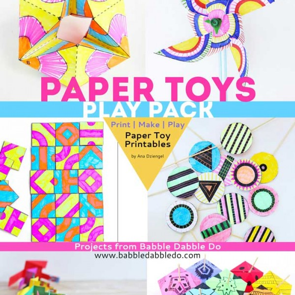 7 Paper Toys you can make at home. Templates, tips, and ideas to start creating.