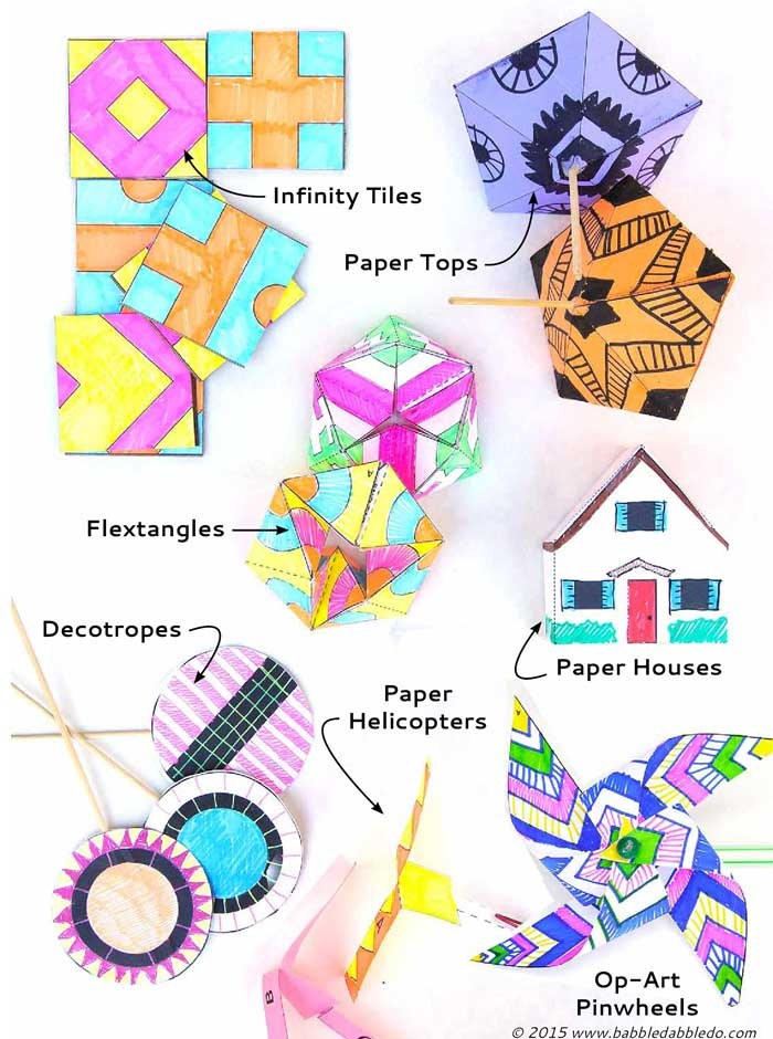 Paper Toys you can make at home