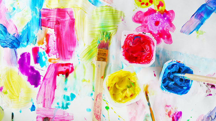 DIY Art Materials: 3 Easy Homemade Paints for Kids - Babble Dabble Do