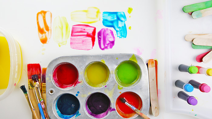 3 easy homemade paints for kids you can make using items from your pantry - Paint Pictures For Kids