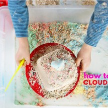 How to Make Cloud Dough: Basic, Colored  & Chocolate