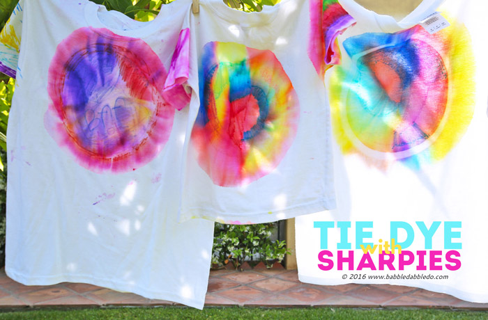 What all do you need to make tie dye shirt