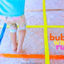 Simple Craft Idea: Bubble Wrap Rug