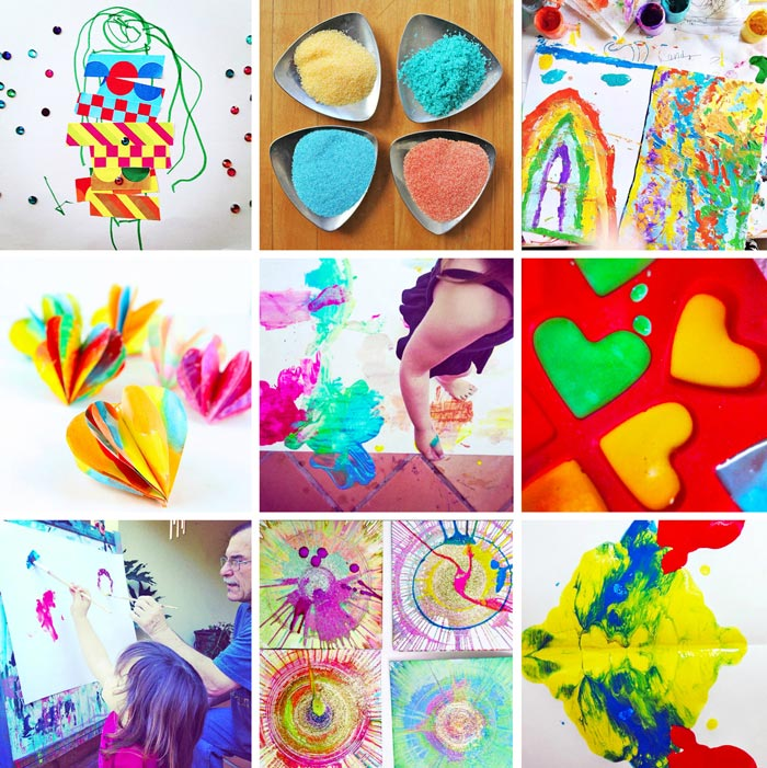 ART: 80 Easy Creative Projects for Kids including activities, art, crafts, science, engineering and toys! Projects perfect for kids ages 3-8.