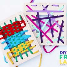 Fine Motor Skills Activity: Frame Lacers