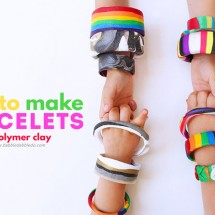 Polymer Clay Tutorial: 6 Ways to Make Clay Bracelets