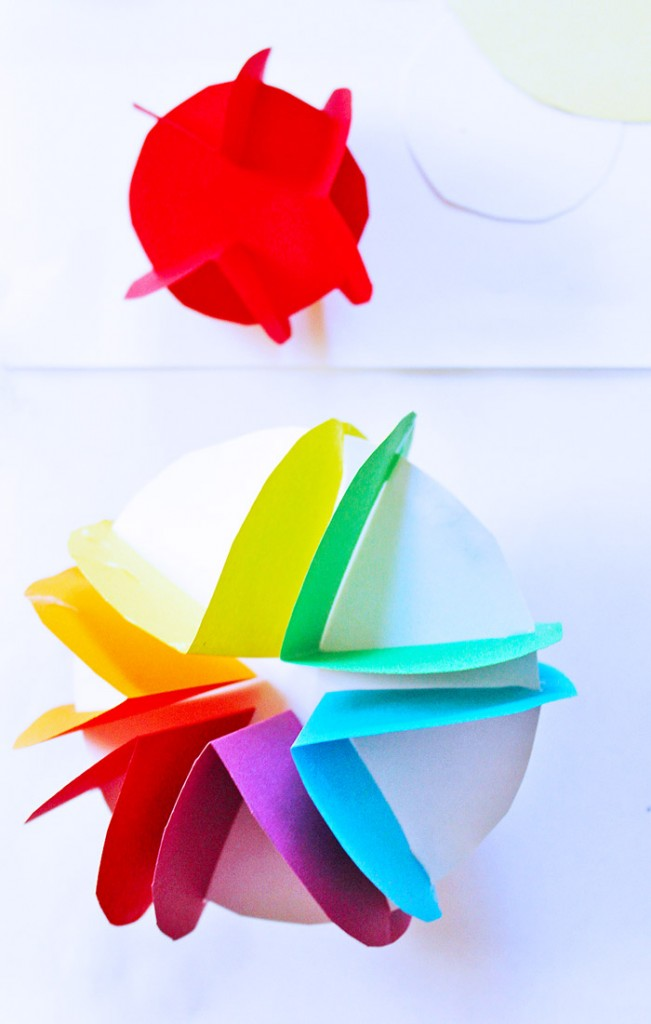 3D Paper Planets A Simple Planet Craft For Kids That Also Introduces Them To The