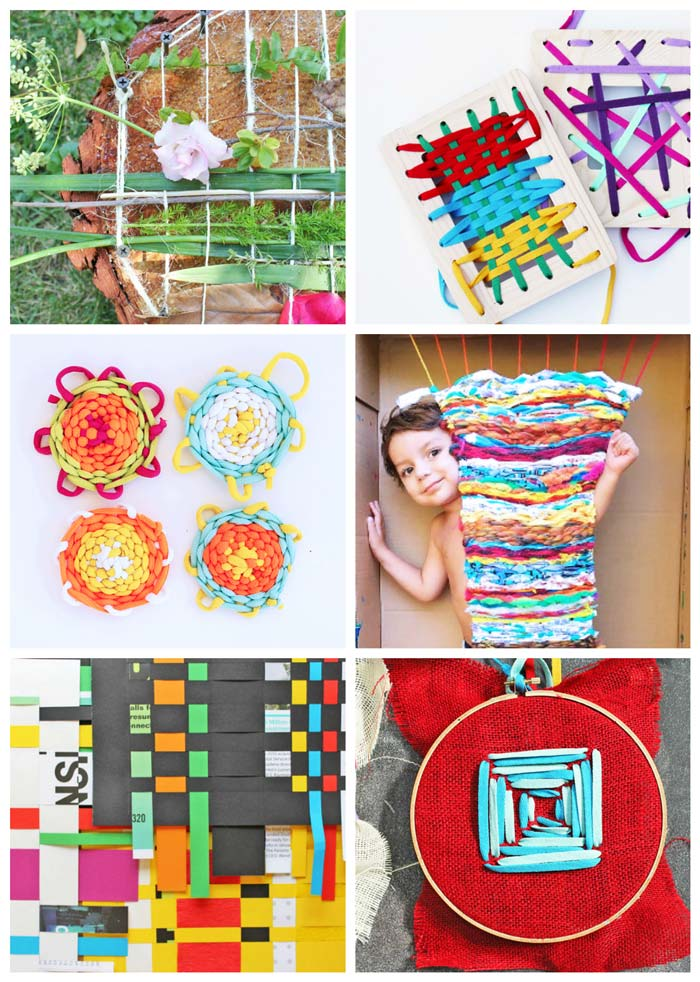 75 of the Best Arts and Crafts Projects. Sewing and weaving projects