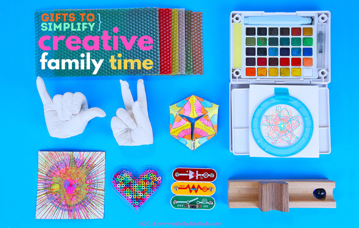 Gifts to simplify creative family time babble dabble do these gift ideas will make creative family time fun and stress free negle Image collections