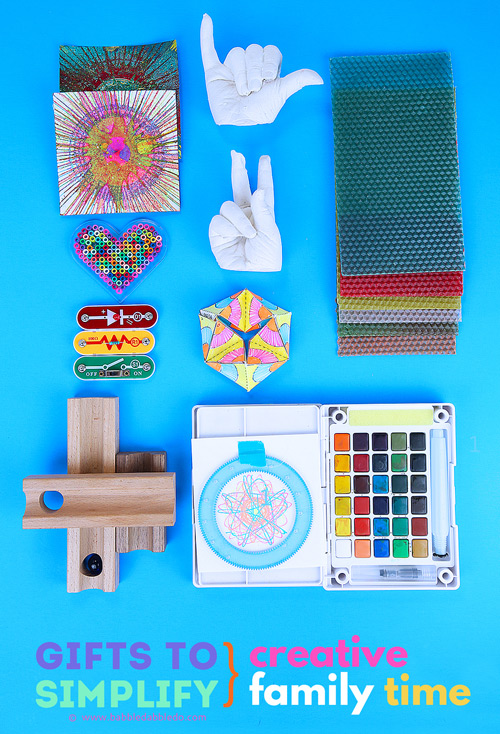 Gifts to simplify creative family time with your kids.