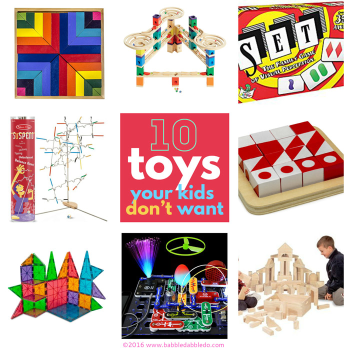 10 toys your kids don't want...
