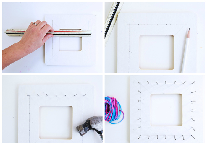 Math Art Idea: Use string art to teach math and geometry concepts to kids