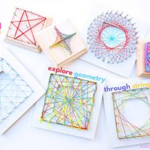 Math Art Idea: Explore Geometry Through String Art