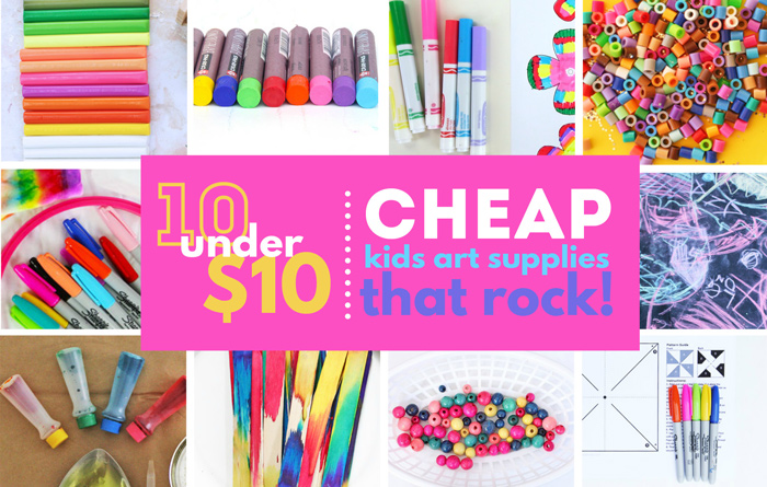 10 Under Cheap Art Supplies For Kids Creative Projects Every Family Should