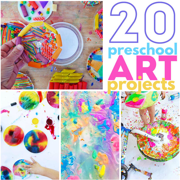 20 Preschool Art Projects Babble Dabble Do