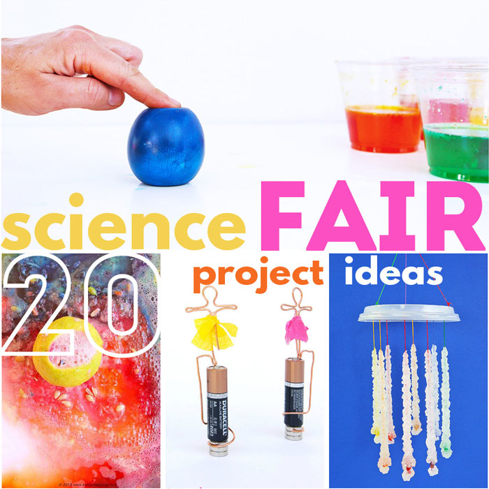 20 Science Fair Projects For Kids Based On Grade Level