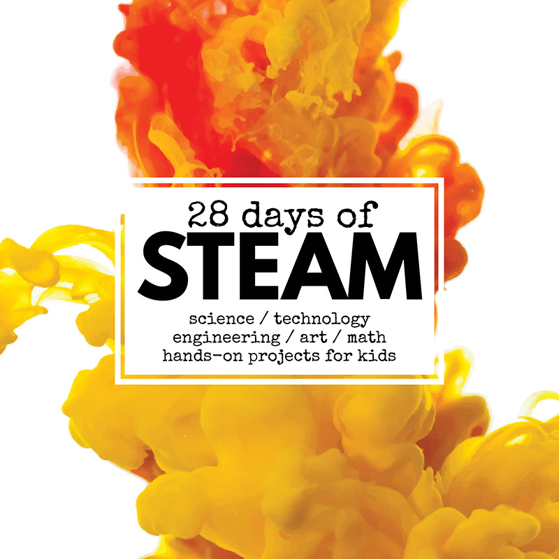 28 Days of STEAM project Ideas