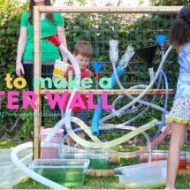 Make a Freestanding DIY Water Wall