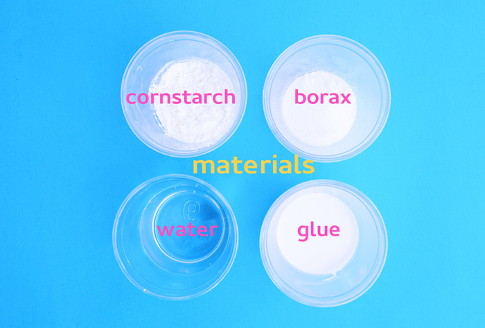 Try this simple science experiment with common household materials: Turn glue, borax and cornstarch into DIY Bouncy Balls.