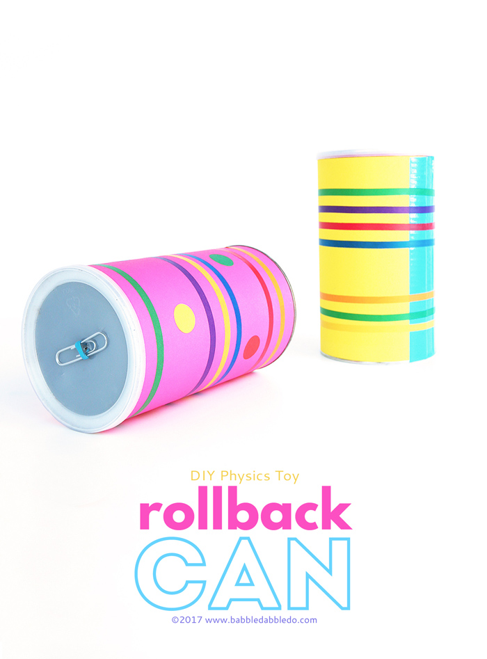 Make a DIY Rollback Can. This fun physics project doubles as a really good party trick!
