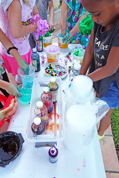 Host an epic Slime Party for kids! Supply list, tips, and easy slime recipes.