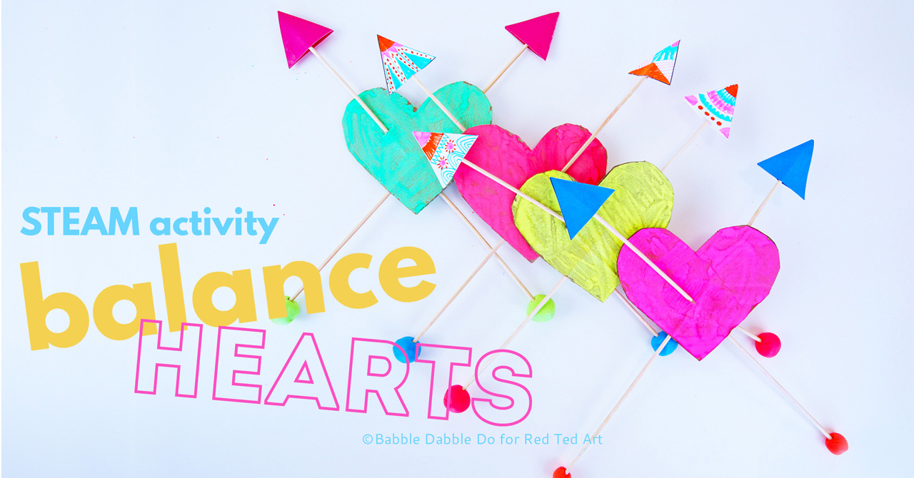 How To Make A Balance Toy Hearts STEAM Activity