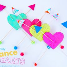 STEAM Valentine's Day Activity: Balance Hearts