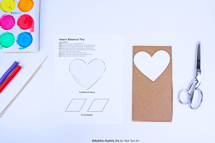 A DIY toy that doubles as a STEAM Valentine's Day activity!