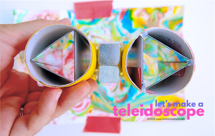 How To Make A Teleidoscope A Type Of Diy Kaleidoscope Babble