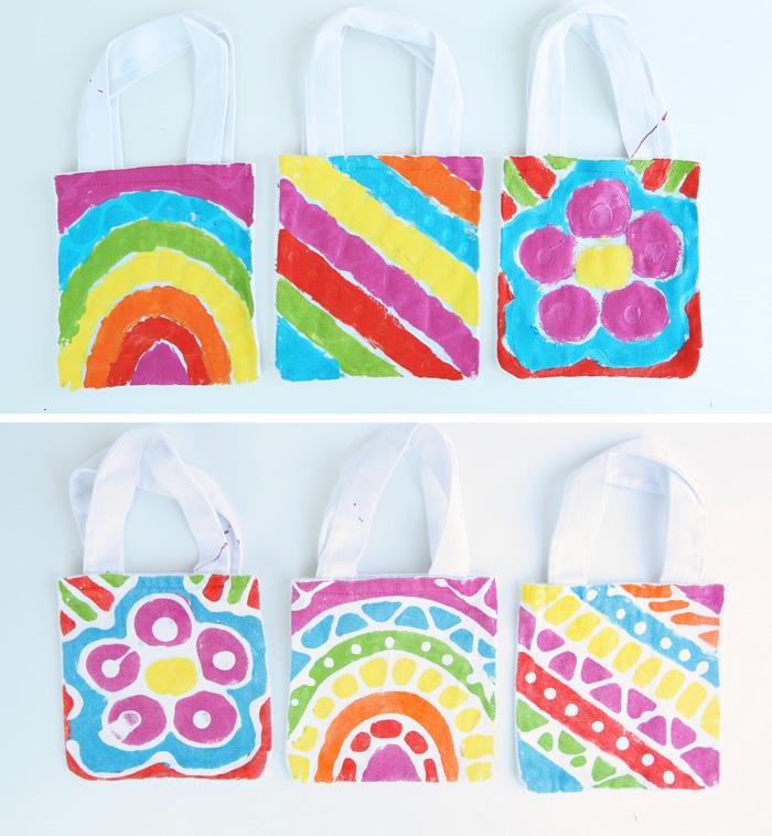 Fabric Craft Idea: Glue Batik