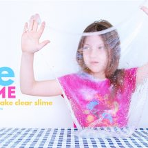 Amazing Ice Slime: How to Make Clear Slime