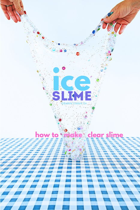 Learn how to make clear slime with this tried and true method.