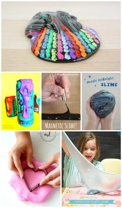 Amazing and unusual slime recipes to try