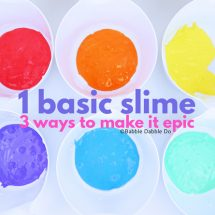 The Best Basic Slime Recipe plus 3 Ways to Make It Epic