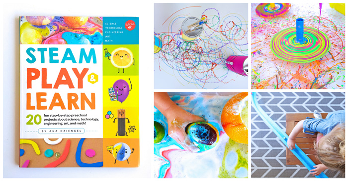 STEAM Play & Learn: 20 step-by-step STEAM projects for preschoolers and beyond!