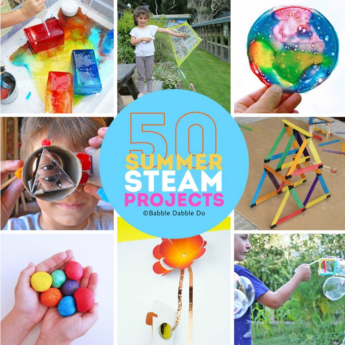 The Best Summer Activities for Kids with a STEAM Twist