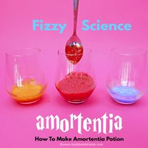 Fizzy Science: How To Make Amortentia Potion
