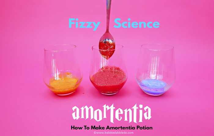 Harry Potter Science Project for Kids: How To Make Amortentia Potion