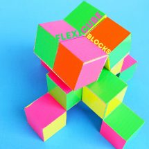 Simple DIY Toy: Flexicube Blocks